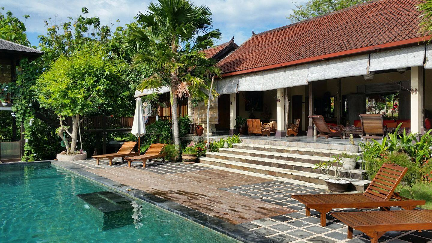 Villa Anjing from the Pool